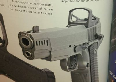 RECOIL magazine article on LRK Stealth 1911 build