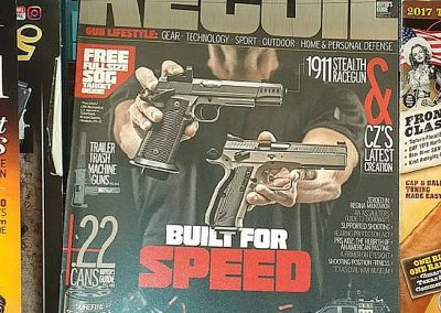 RECOIL Magazine LRK Stealth 1911 Article Cover