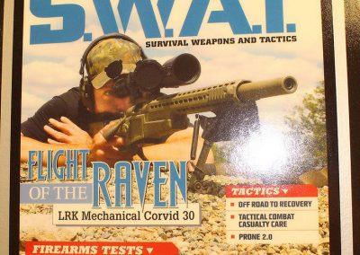 SWAT Magazine Cover Corvid Rifle